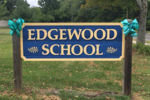 Bristol CT Edgewood School Sign