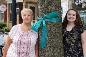 Cranbury NJ Women Teal Tree