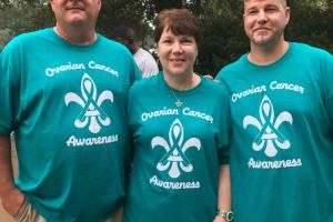 Pass Christian Mississippi Woman Men Ovarian Cancer Awareness Shirts
