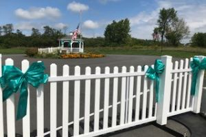 Princetown Ny Teal Fence